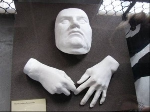 martin luther death mask