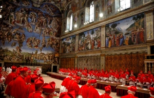 conclave of cardinals