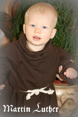 Reformation Day Luther Costume