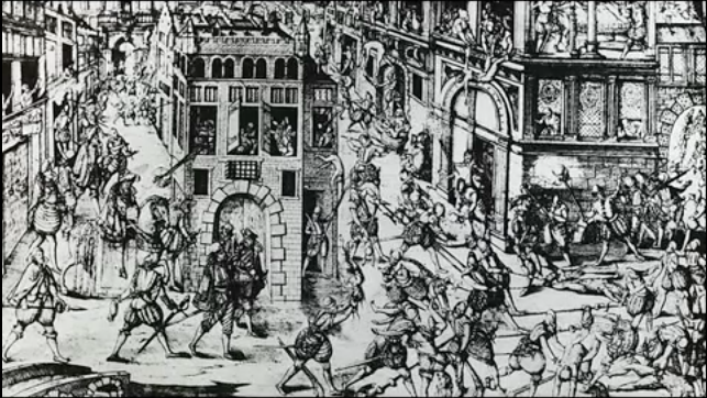 st barholomews day massacre essay August 24, 1572, was the date of the infamous st bartholomew's day massacre in france on that day, over 400 years ago, began one of the most horrifying holocausts.