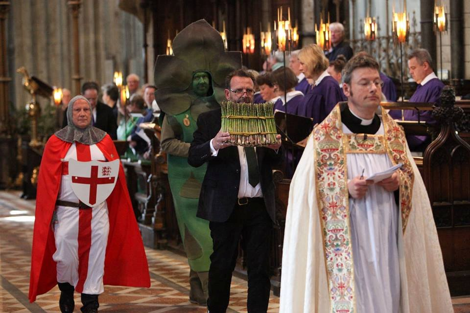 The Rule Of Worship, Christ And Culture, And Asparagus